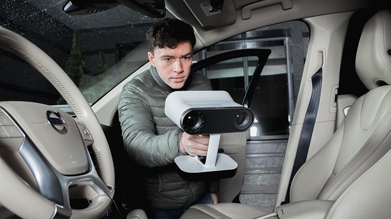 汽车/飞机/机械零部件三维扫描服务